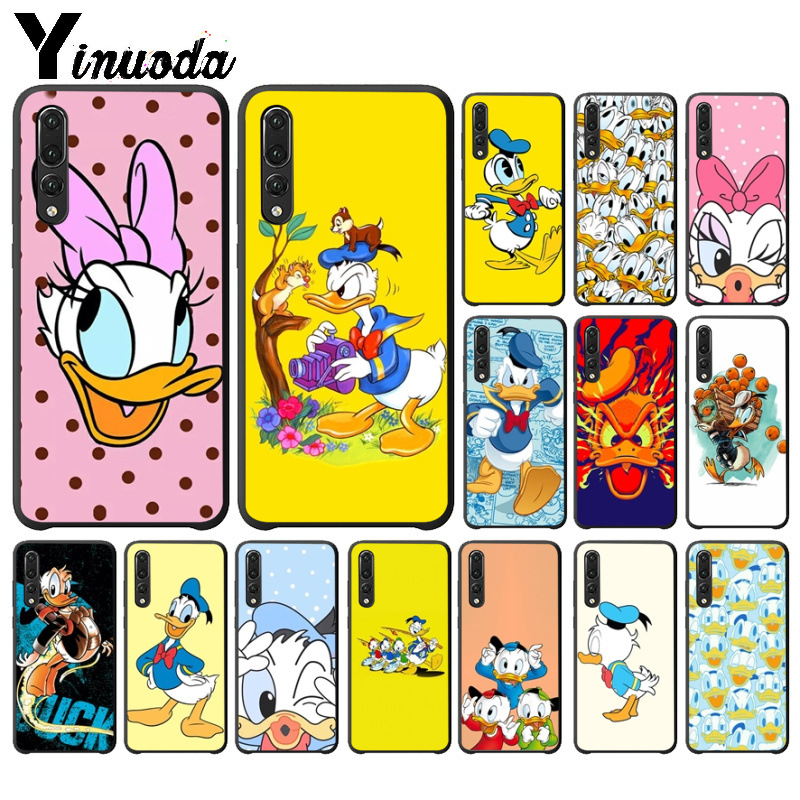 Half-wrapped Case Constructive Yinuoda Donald Duck Novelty Fundas Phone Cover For Huawei P10 Plus 20 Pro P20 Lite Mate9 10 Lite Honor 10 View10 Mobile Cover
