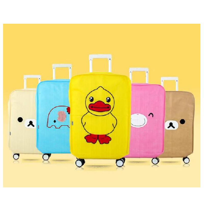 Travel accessories Super value Luggage cover Suitcase dust cover Baggage box set Cute an ...