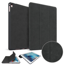 New Matte PU high quality deer leather case For Apple iPad pro 9.7 case Original 1:1 protective Smart sleep wake up PU case