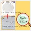 1 шт из Чистого Титана Очки кадр 9179 + 1 пара 1.56 Единое видение оптических линз близорукость рецепту очки