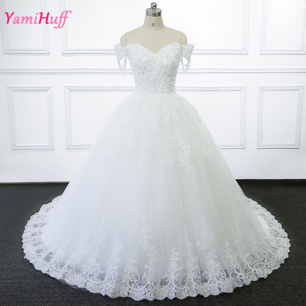 China Wedding Gown: Abiti Da Sposa Vintage Ball Gown Wedding Dress Lace Bateau