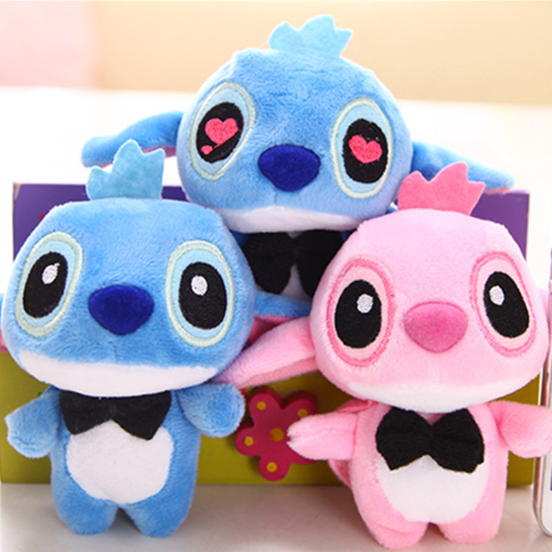 1PC 10cm Lilo Stitch Plush Toys Dolls with Sucker Keychain Soft Stuffed for Kids Baby Gifts Christmas Gift1PC 10cm Lilo Stitch Plush Toys Dolls with Sucker Keychain Soft Stuffed for Kids Baby Gifts Christmas Gift