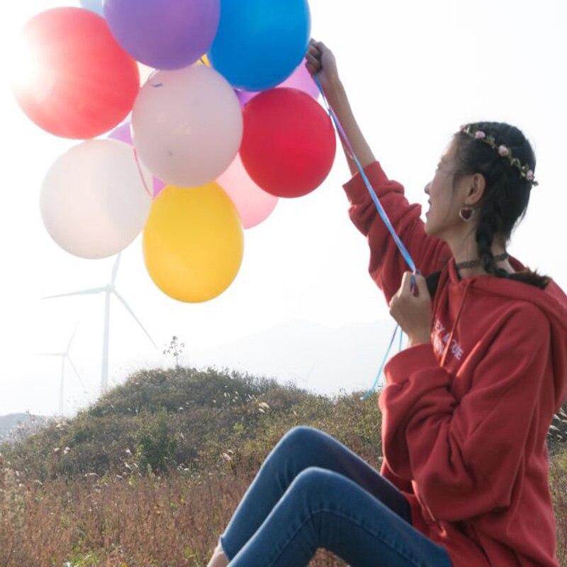100 Pcs Wedding Decor Balloon Birthday Party Ballon 10inch 1 5g