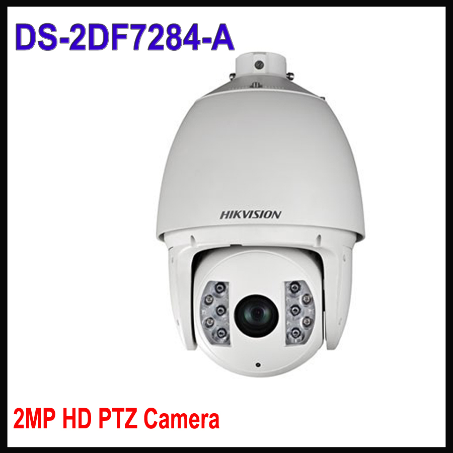 English version Hik DS-2DF7284-A 2MP IR Network PTZ camera Ultra-low Temperature Speed Dome camera 20X zoom 150m smart IR free shipping ds 2df5274 a original english version 1 3mp network speed dome 20x optical zoom camera