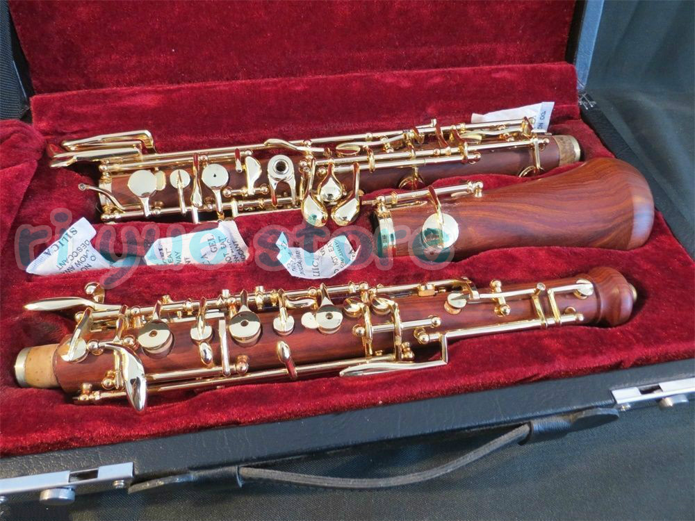 professional rosewood concert semiautomatic oboe C key full conservatory