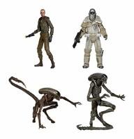 Classic Sci fi Horror Movie Aliens Series 8 Weyland Yutani Commando Dog Alien Ellen Ripley 18CM NECA Action Figure