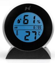 Sale Hot selling Mieo wonderful General portable indoor and outdoor electronic Hygrometer thermometer  clock qy076
