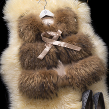 2017 Real Raccoon Fur Vest Waistcoat Leather Patchwork Autumn Winter Women Fur Outerwear Coats Lady Clothing 0713
