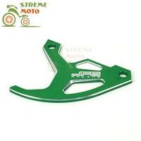 Billet Rear Brake Disc Cover Guard Protection For Kawasaki KX250F 04 17 KX450F 06 17 KLX450R