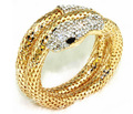Snake Bangle Cuff Wrap serpiente Bracalet&bangle Gold silver tone exaggerate serpent bracelet with crystal