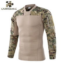 Men Tactical Airsoft Softair Paintball Combat Overalls for Men Working Military Camouflage Dry Pike Army Men's Tactical Clothing