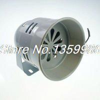 1PCS 220VAC Gray MS 290 Mini Plastic Industrial Alarm Sound Motor Siren 130dB
