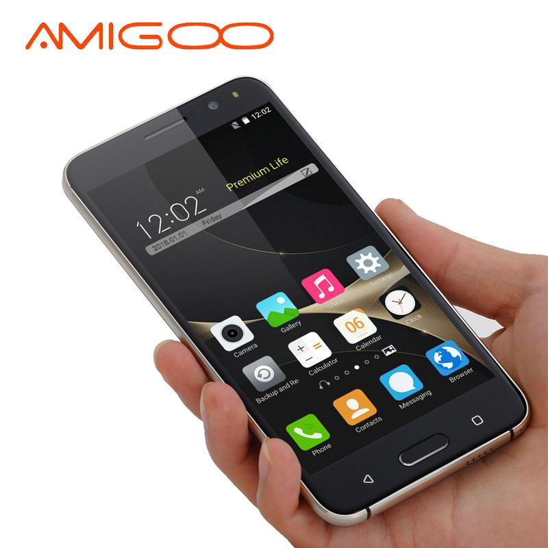 AMIGOO X18 Smartphone 5.5 inches Quad Core Dual SIM Cards 8GB ROM Android 5.1 Telefone Celular 3G Unlocked Cell Phones