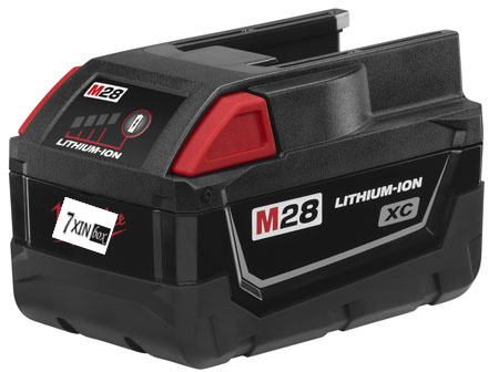 28V 3000mAh For Milwaukee M28 48-11-2830 V28 Cordless Li-Ion Power Tool Rechargeable Battery Pack Used With Good Quality free customs taxes super power 1000w 48v li ion battery pack with 30a bms 48v 15ah lithium battery pack for panasonic cell