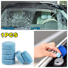 1PCS =4L Liplsating Car Windshield Cleaning Car Accessories Glass Cleaner Car Solid Wiper Fine Wiper Car Auto Window Cleaning(China)