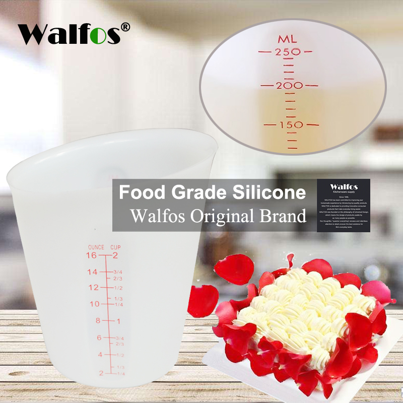 WALFOS High Quality Food Grade 500ml Flexible Silicone