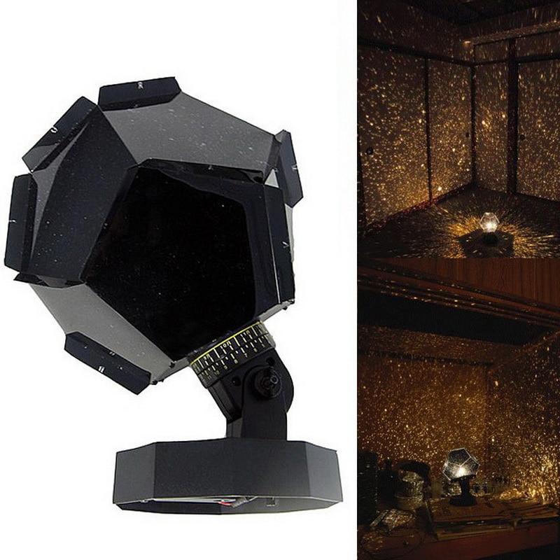 Fantastic Celestial Star Projector Lamp Night Light Funny DIY Romantic Valentine's Day Gift