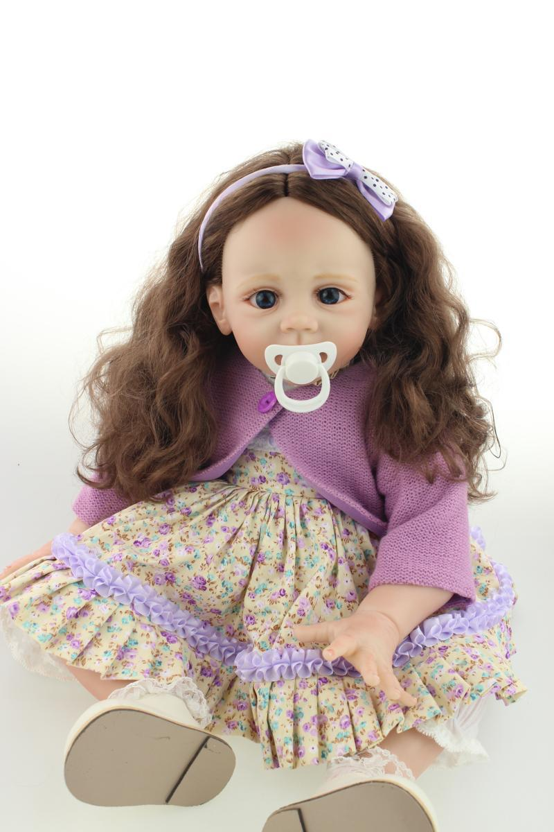 24 inch Reborn Fridolin Baby Doll Lifelike Girls reborn Toddler Collection  rooted smooth hair  magnet pacifier.24 inch Reborn Fridolin Baby Doll Lifelike Girls reborn Toddler Collection  rooted smooth hair  magnet pacifier.