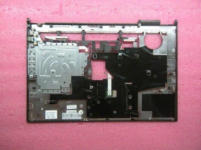 Nowy oryginalny dla Lenovo ThinkPad L440 klawiatura Bezel pokrywa wielkie litery podpórce pod nadgarstki z touchpadem czytnik linii papilarnych 04X4815