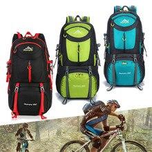 Outdoor Backpacks Waterproof Nylon Hiking Bag For Women Travel Cycling Bags Trekking Rucksack Bicycle Backpack 60L