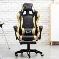 Casa de jogo Móveis cadeiras de Escritório executivo de luxo Cadeira de couro assento encosto ergonômico ajoelhado Para Jogos de Computador