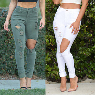 eeaef24a5fc544 Popular Distressed Skinny Jeans Women-Buy Cheap Distressed Skinny .