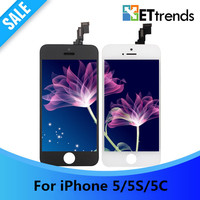 10PCS LOT NEW Best Lcd Display Screen For IPhone 5S LCD Digitizer Touch Glass Screen Full