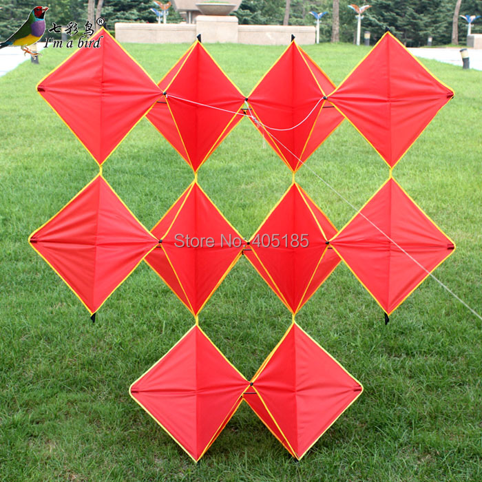 Free Shipping Outdoor Fun Sports 3D Red Ten Pieces Diamond Good Flying Factory Direct Sale