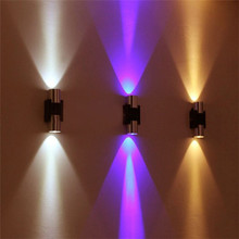 Wall Lamps 2W Modern LED Sconce AC85-265V Energy saving Luminaire Fixture with Scattering Home Decor Light for Bedroom foyer