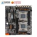HUANAN ZHI X79-4D Dual CPU Moederbord Voor Intel LGA 2011 E5 2680V2 DDR3 1333/1600/1866 MHz 128 GB PCI-E SATA3 USB3.0 E-ATX