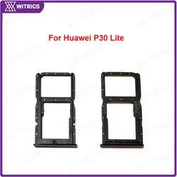 Witrigs SIM Kaart Lade Houder Slot Socket Voor Huawei P30 Lite-in null van Mobiele telefoons & telecommunicatie op
