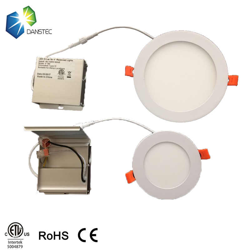 2pc 4inch 9w 100v to 277v with shipping dimmable led panel. Black Bedroom Furniture Sets. Home Design Ideas