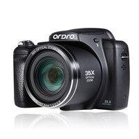 Бесплатные DHL Цифровая Камера 35X Оптический Зум HD Photo Potografica Высокой Четкости 3 Дюймов Экран С Ремешком Режим Макросъемки