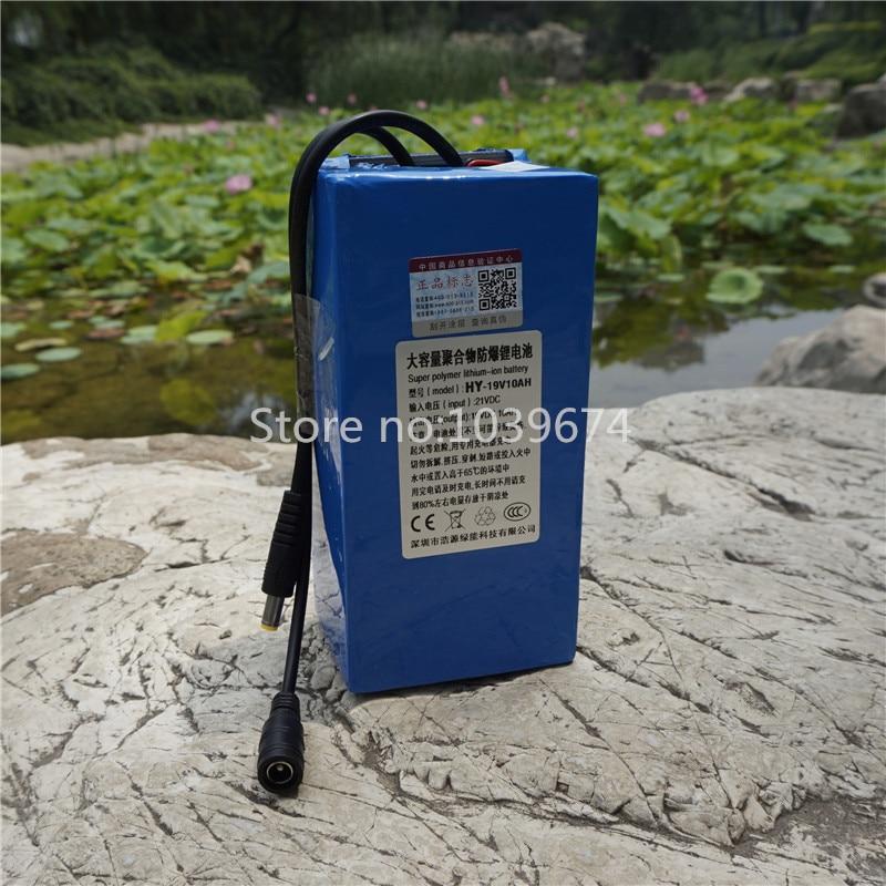 Laptops Emergency Power Source 18V,19V,20V 10AH 50000MAH LiPO li-polymer chargeable battery 5V USB charger & 10 plugs & charger