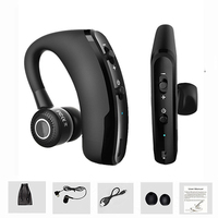 V9 Business Wireless Bluetooth Headset Headphone Voice Control Handsfree Earphone Earbuds With Mic For Office Driver