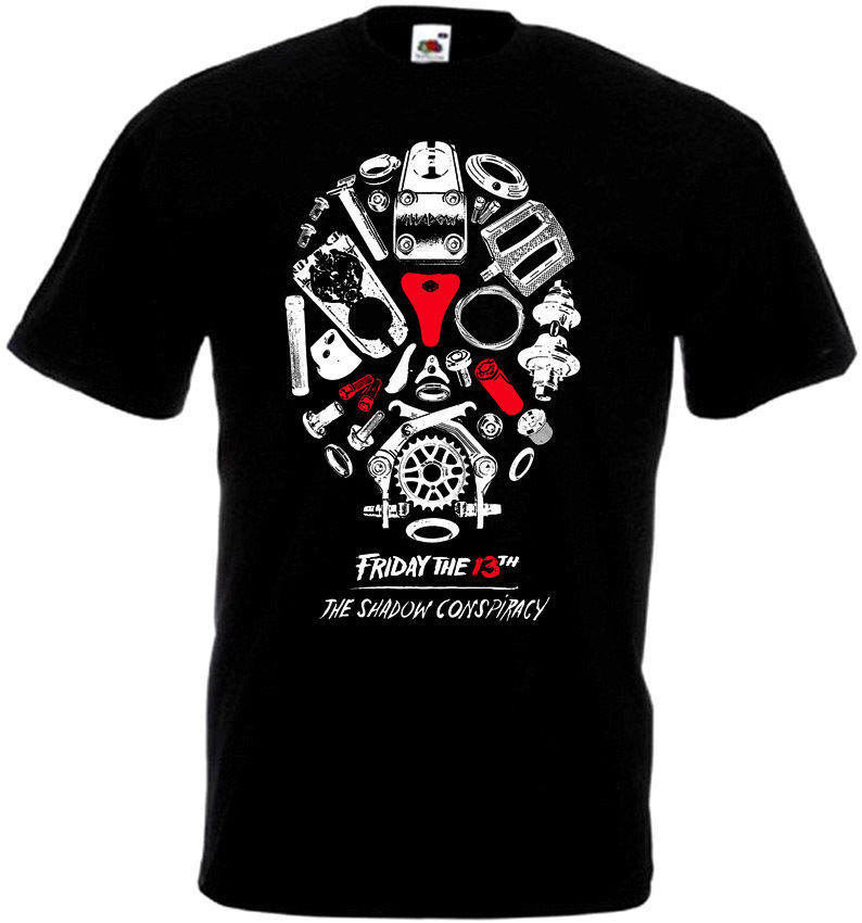 Friday The 13 v33 T-Shirt all sizes S-5XL BLACK