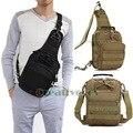 Men Waterproof Nylon Military Travel Tote  Handbag Messenger Shoulder Sling Pack Chest Bag