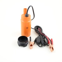 30L Per Minute DC 12V Plastic Submersible Diesel Fuel Water Oil Pump For Car Camping Portable