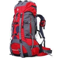 Король джунглей открытый тяжелый сумки для восхождения Кемпинг путешествия рюкзаки оптовая продажа 70 + 5L professional waterproof нейлон пеший Туризм р