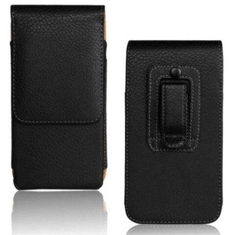 OEEKOI Belt Clip PU Leather Waist Holder Flip Cover Pouch Case for Karbonn Mobiles Titanium S29 Elite/S9 Lite 5.5 Inch Lahore