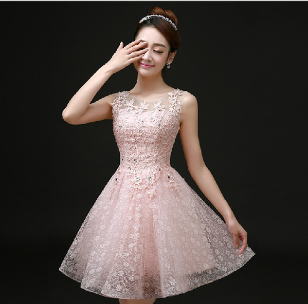 Online Get Cheap Pink Cocktail Prom Dresses -Aliexpress.com ...