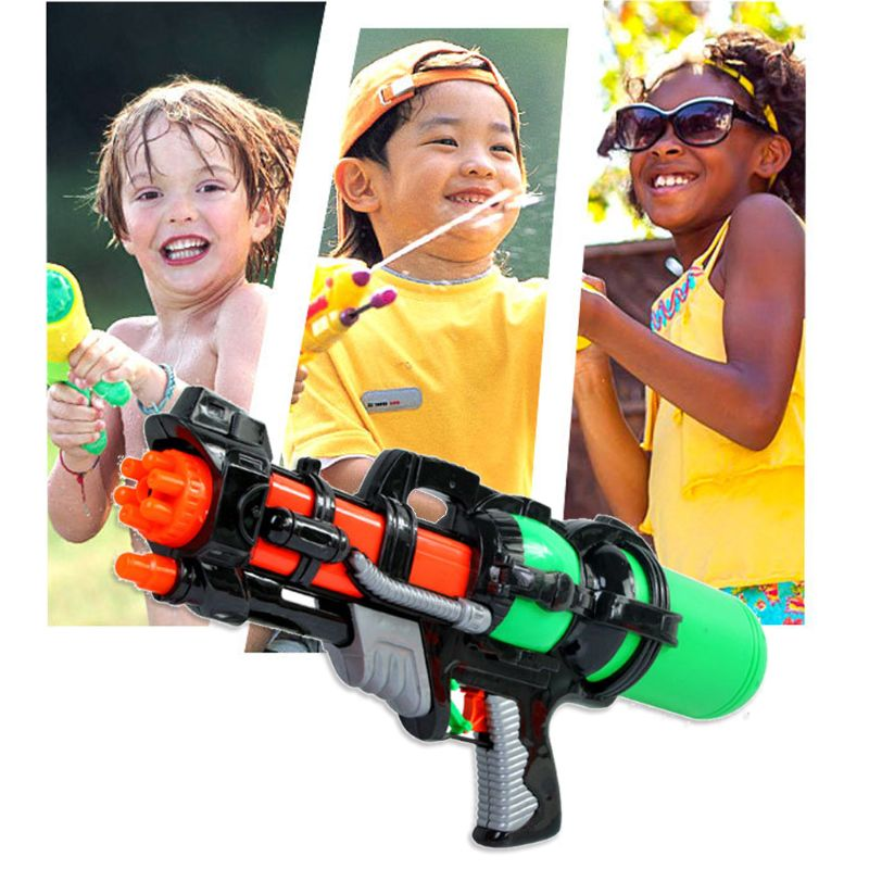 Soaker Sprayer Pump Action Squirt Water Gun Pistols Outdoor Beach Garden Toys