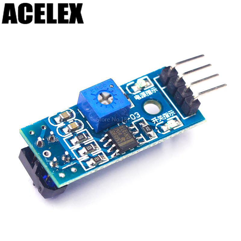 TCRT5000 Infrared Reflective Sensor IR Photoelectric Switch Barrier Line Track Module For Arduino Diode Triode Board 3.3v-5v