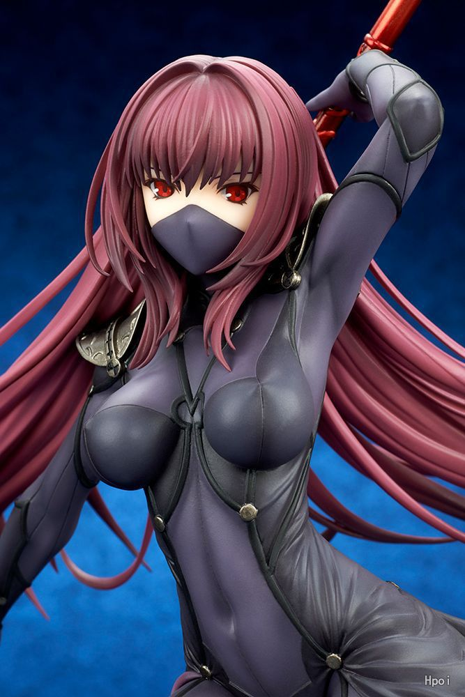 28cm Fate/Stay Night Fate Grand Order Lancer Scathach Anime Cartoon Action Figure PVC toys Collection figures for friends gifts 4th july girl plain white pettitop red white blue bow petal pettiskirt nb 8year mamh209