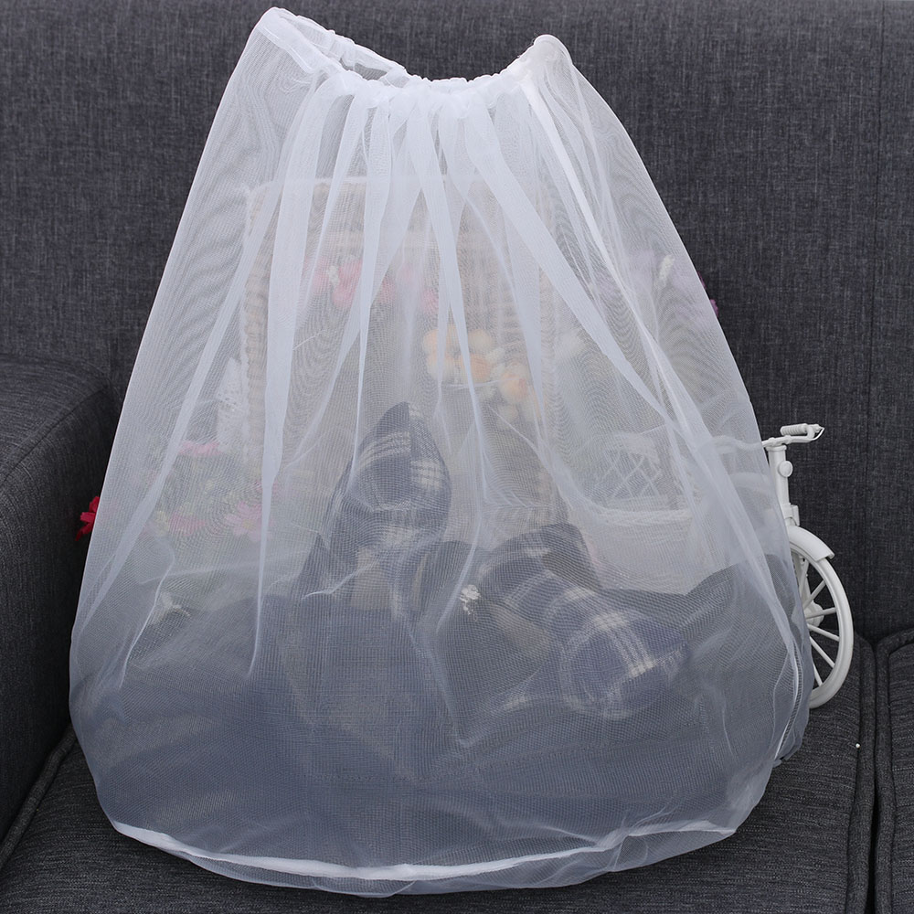 1pc New Novelty Home Washing Mesh Net Bags Laundry Bag Large Thickened Wash Bags Useful Protect Clothes Home & Garden