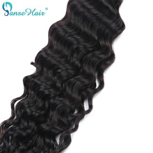 Panse Hair Deep Wave 4 жол жиынтығы Malaysian Human Hair Weaving Арнайы 8 - 30 дюймдік 1B 100% Human Hair Extension