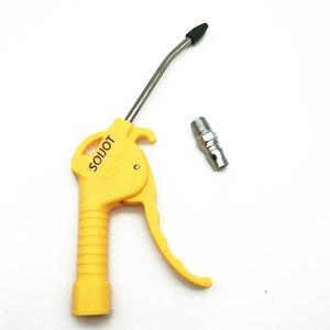 """Image 2 - AR TS/AR TS L  Hand held High pressure Pneumatic Air Blowing dust gun 1/4""""PT Female thread port Air Duster clean Tool"""