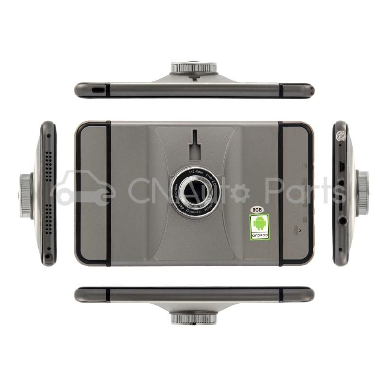 7 Inch Android 4.4 GPS 1080P HD DVR with Dash Cam Touchscreen FM Transmitter