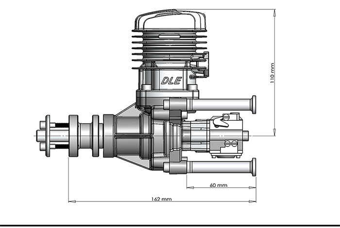 DLE 35 RA Asli Mesin GAS untuk Pesawat Model Hot Menjual, DLE35RA,DLE, 35 RA,DLE-35RA
