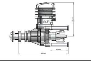Image 5 - DLE 35 RA originale GAS Motore Per Il modello Dellaeroplano vendita calda, DLE35RA,DLE, 35 ,RA,DLE 35RA